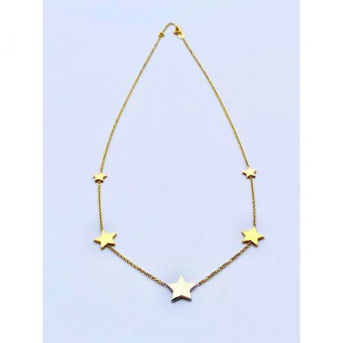 "Ogrlica ""zvezde"" | Ogrlice | Belo zlato"