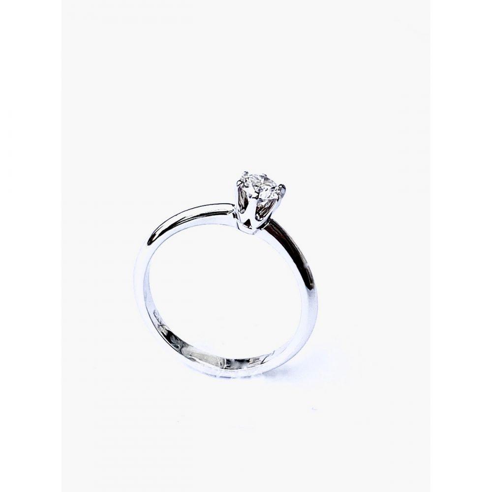 "Prstan ""diamant"" | Prstani | Belo zlato"