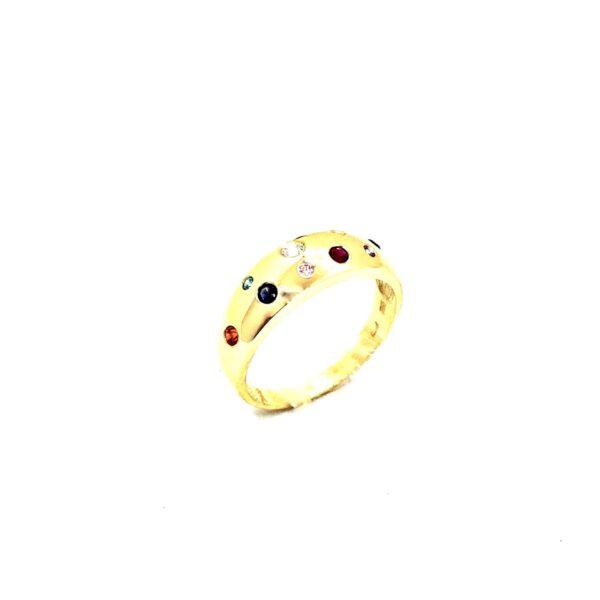Prstan rumeno zlato