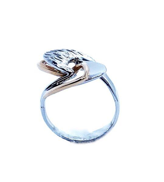 Prstan belo zlato, prstan rdeče zlato
